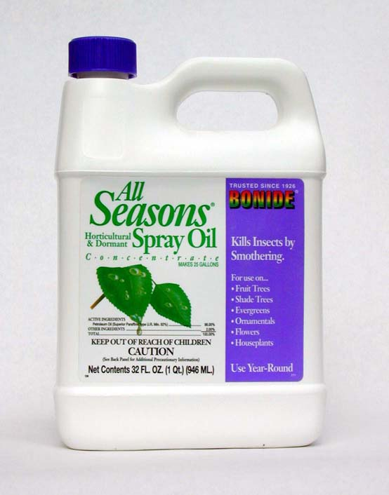All Seasons Hort & Dormant Spray Oil, 1 gal, 4/case
