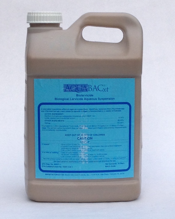 Aquabac xt Aqueous Suspension, 2.5 gal