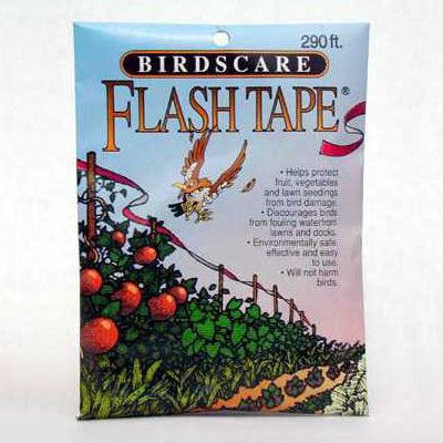 Bird Scare Flash Tape, 290 ft roll, 10 rolls