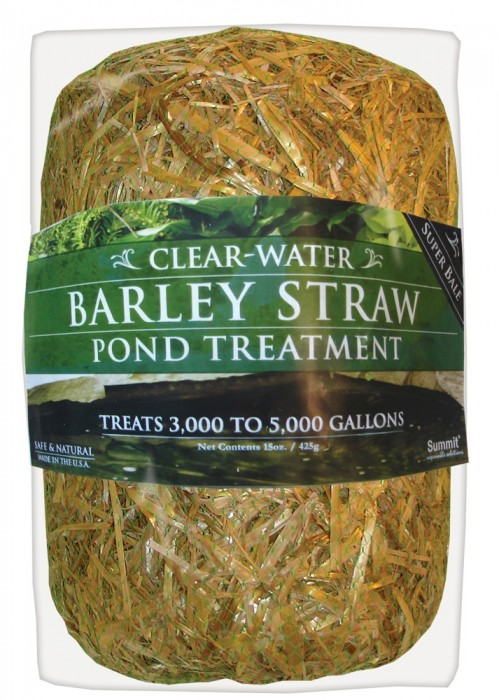 Clear Water Barley Straw, Super Bale, 5,000 gal., 6/case
