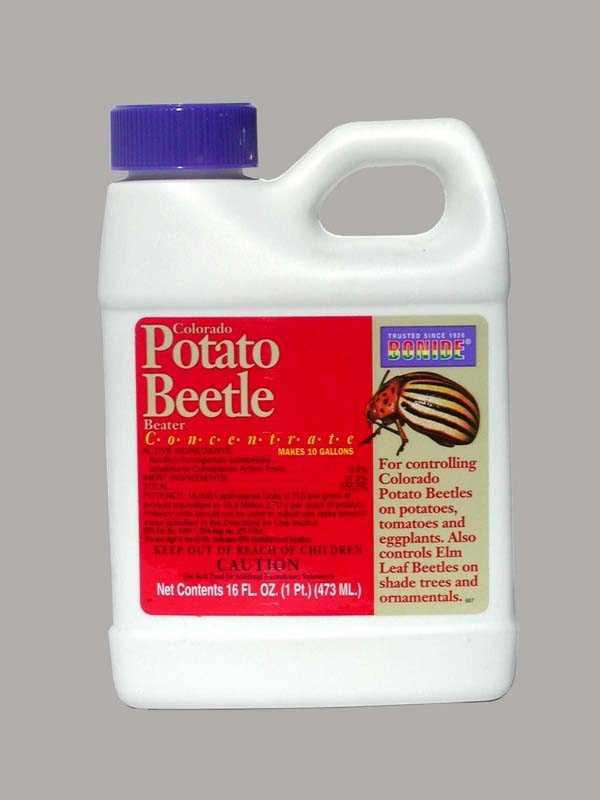Colorado Potato Beetle Beater, 16 oz, 12/case