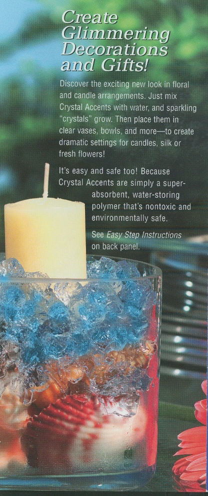 Crystal Accents, 1 lb , 6/case (specify color)
