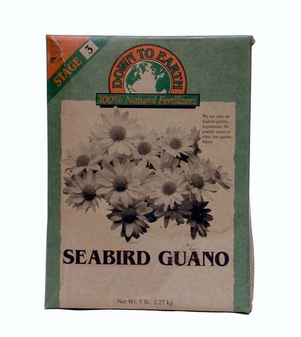 Fossilized Seabird Guano: 0-9-0, 10 lbs