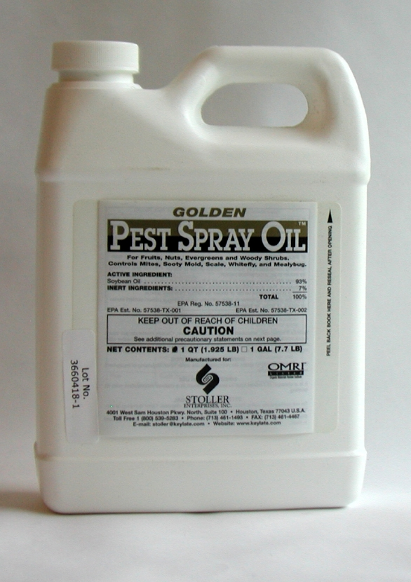 Golden Pest Spray Oil, 2.5 gal