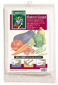 Harvest-Guard Row Cover, 5 ft x 25 ft, 12/case