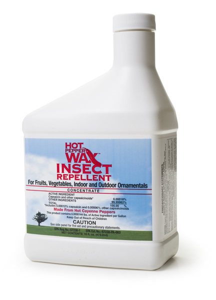 Hot Pepper Wax, INSECT, 16 oz. conc.