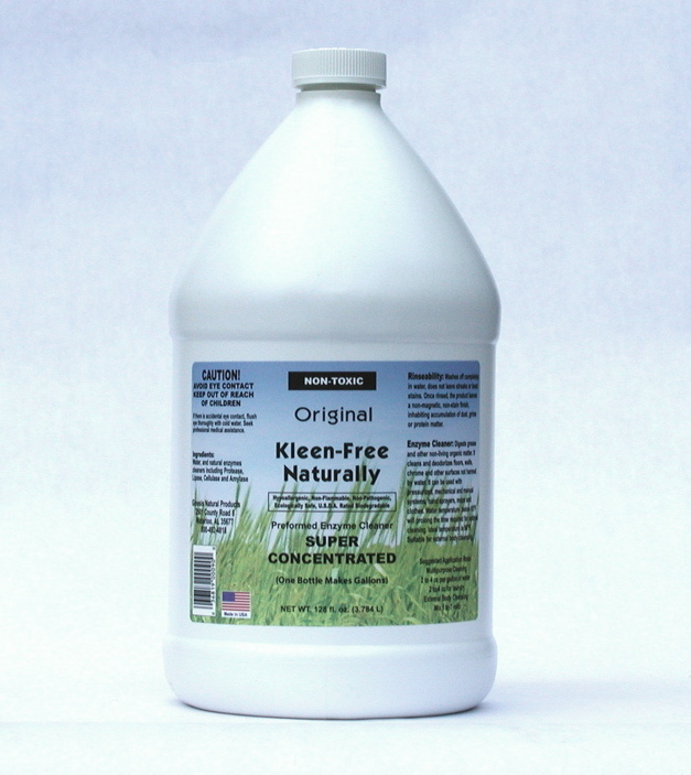 Kleen Free Naturally, 1 gal, 4/case