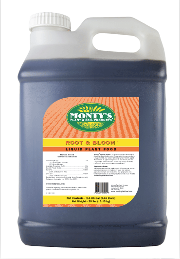Monty's Joy Juice, Root & Bloom, 2-15-15, 1 gal, 3/case