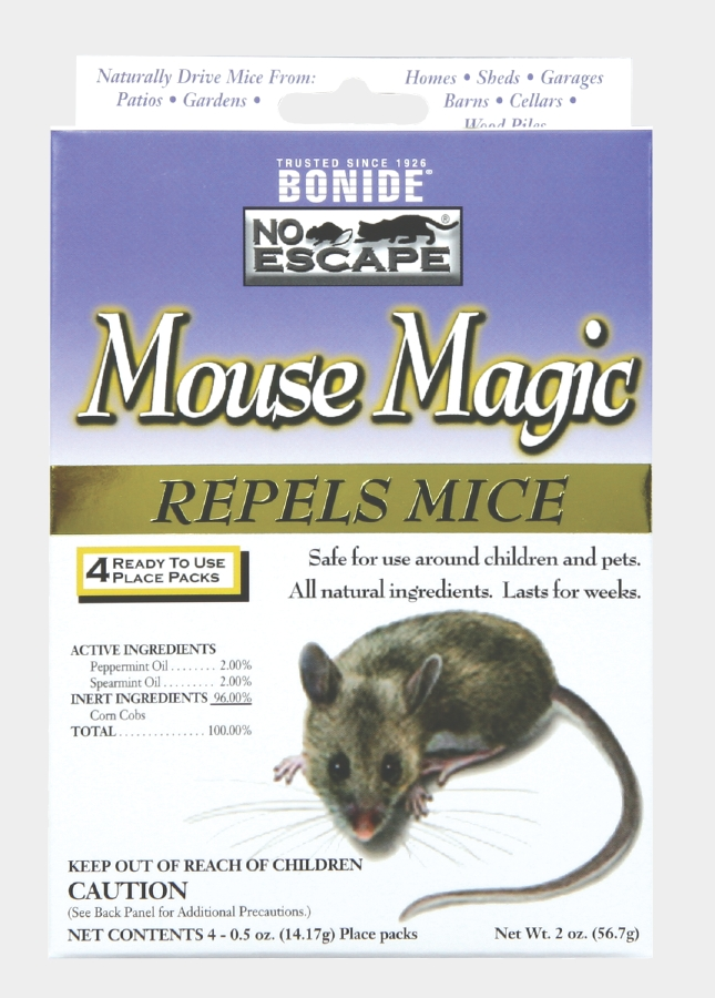Mouse Magic Mouse Repellent, 4/pk