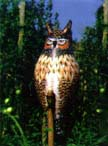 Natural Enemy Inflatable Great Horned Owl