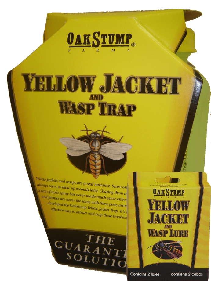 Oak Stump Yellowjacket & Wasp Lure, 4/pkg, 12/case