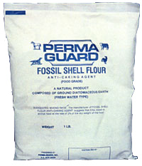 Perma-Guard Fossil Shell Flour, 10 lbs, 2/case, 36/skid