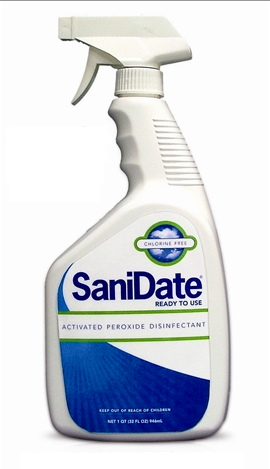 SaniDate RTU Hard Surface Sanitizer, 12/case