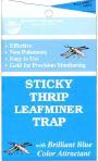 Seabright Blue Thrips Leafminer Sticky Traps, 80/case