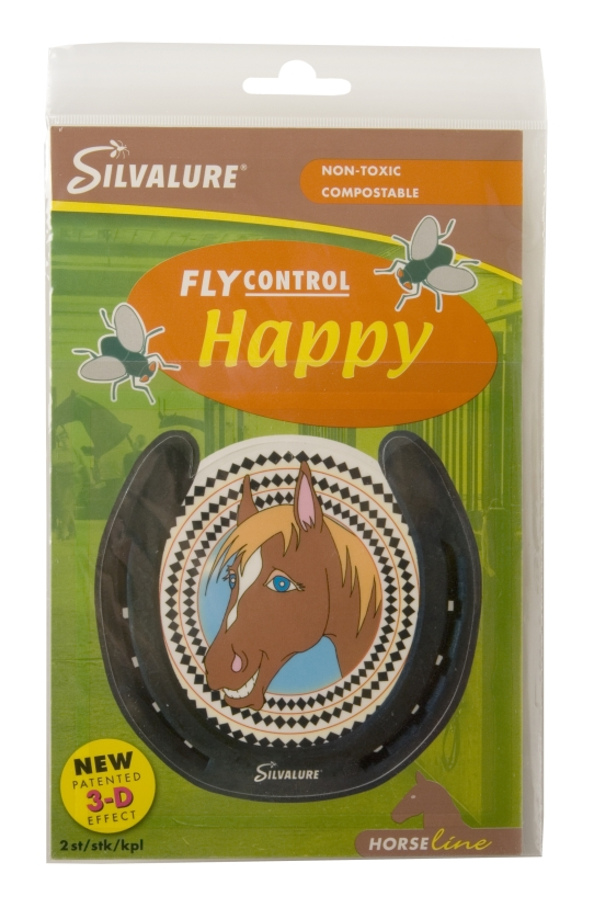 Silvalure Fly Control Happy, 2/pkg