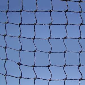 StealthNet, Black 3/4 in H.D. mesh, per sq ft