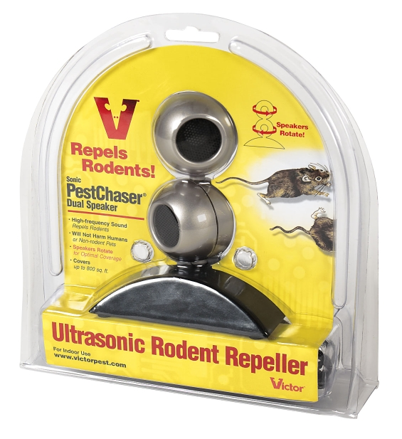 Victor PestChaser Repeller, Dual Rotating Speakers