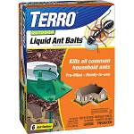 Terro II Outdoor Ant Bait Stations, 6/pkg, 12/case