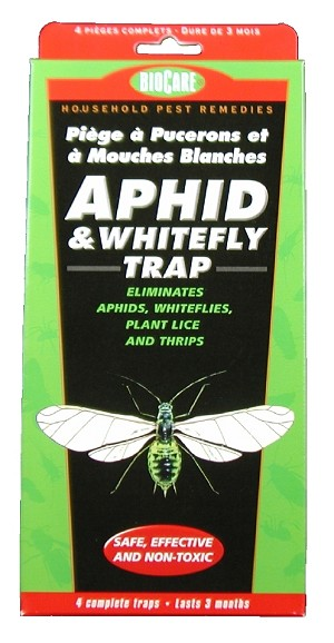 BioCare Aphid & Whitefly Trap, 4/pkg