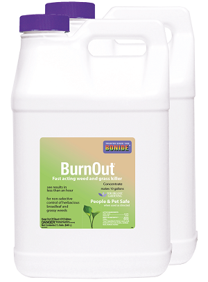 BurnOut Weed & Grass Killer, 5 gallon (2 x 2.5 gal)