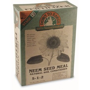 Neem Seed Meal, 5 lbs., 6/case