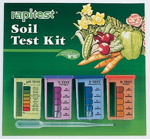 Rapitest Soil Test Kit (pH, N, P, K ), 10 tests ea