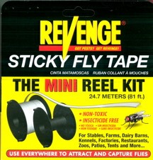 Revenge Fly Line Tape Mini-Reel Kit,  12/bx