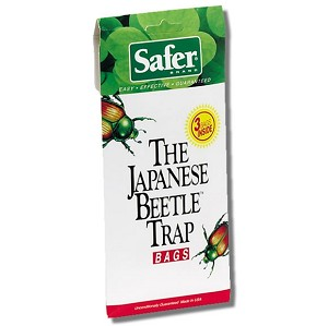 Safer Japanese Beetle Replacement Bags, 3/pk, 24/case