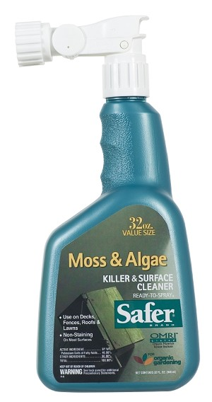 Safer Moss & Algae Killer, 32 oz. RTS