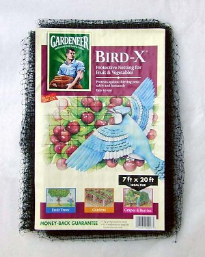 Gardeneer Bird-X Net, 7 ft x 20 ft