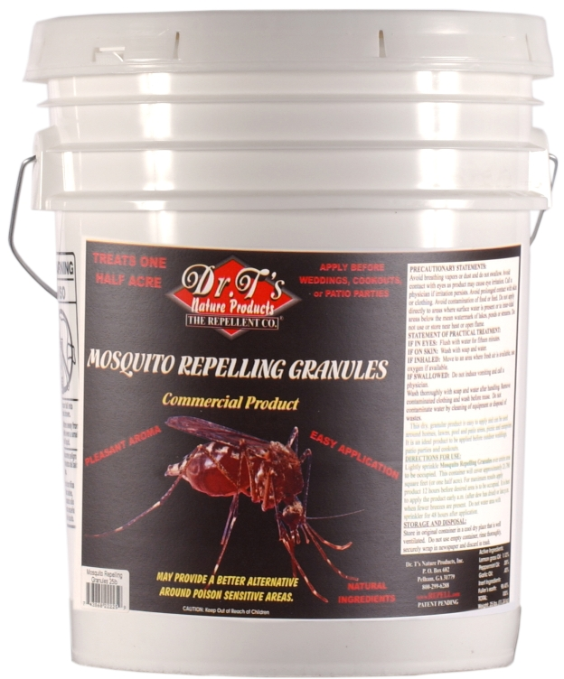 Dr.T's Mosquito Repellent Granules, 25 lbs.