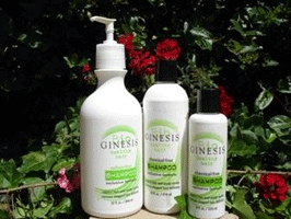 Ginesis Natural Shampoo, gal, 4/case