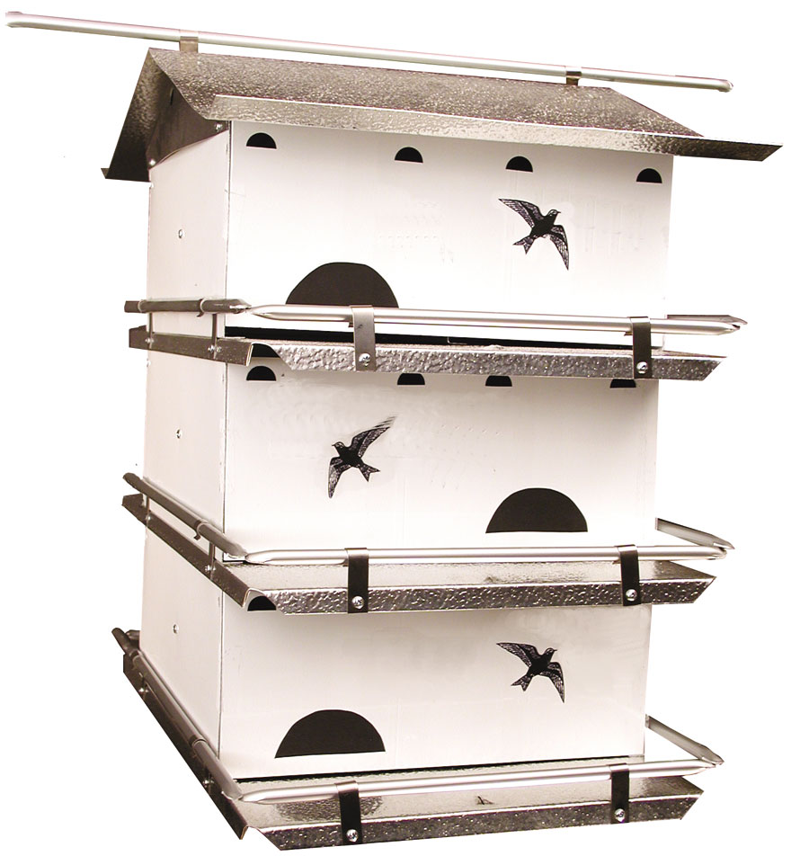WatersEdge Suite Purple Martin House, 3 flr/6 room suite